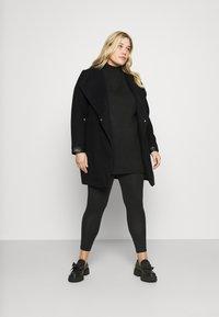 Vero Moda Curve - VMCALASISSEL - Classic coat - black - 1