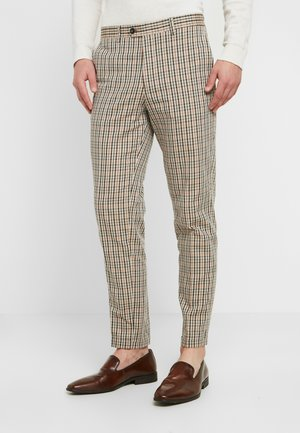 SID TROUSER - Suit trousers - almond buff