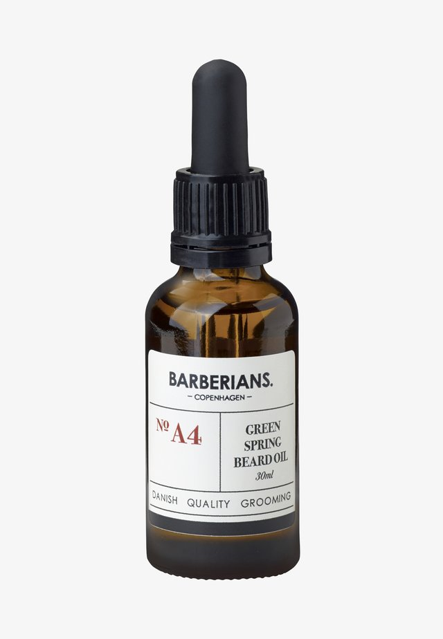 GREEN SPRING BEARD OIL - Skäggolja - -
