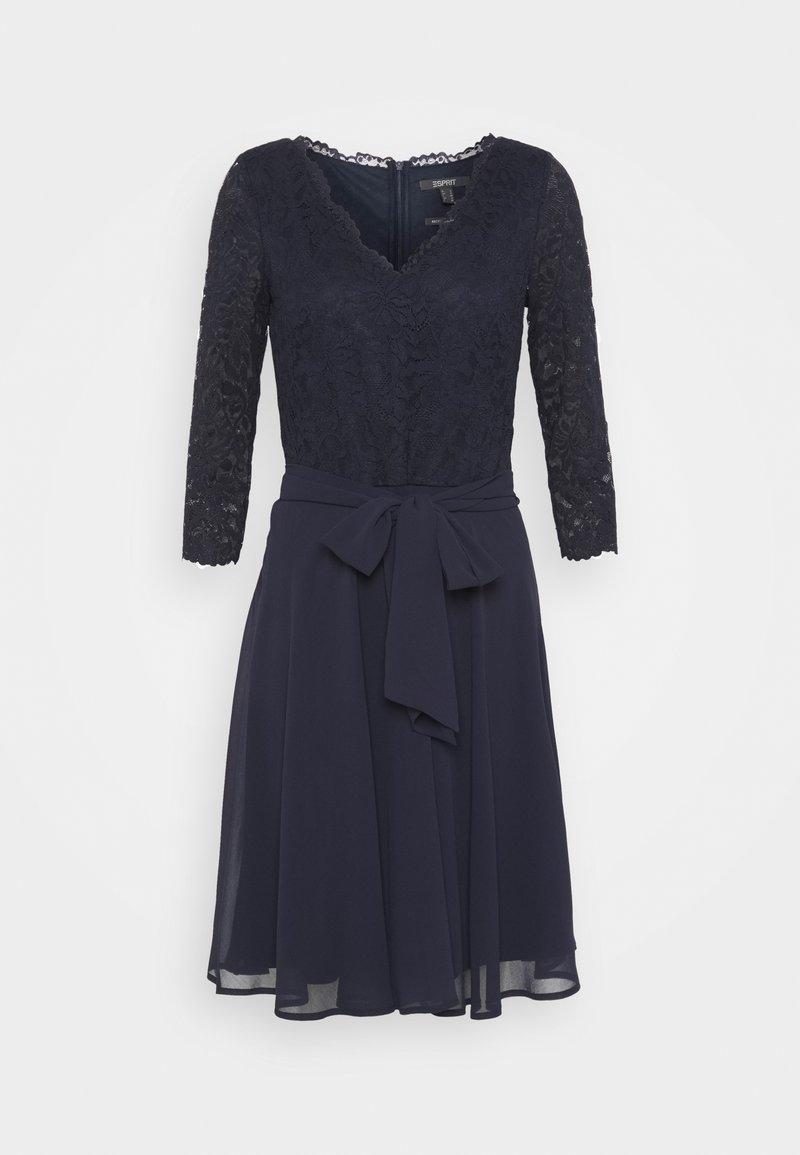 Esprit Collection - PER DRESS - Cocktail dress / Party dress - navy