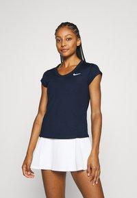 Nike Performance - DRY - Jednoduché triko - obsidian/white - 0