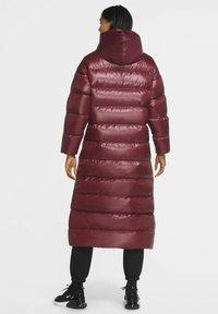 Nike Sportswear - PARKA - Down coat - dark beetroot cactus flower black - 2