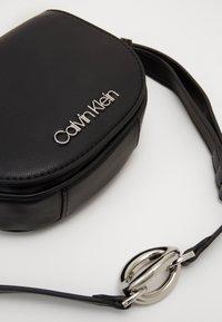 Calvin Klein - CHAIN BELT BAG - Bum bag - black - 4