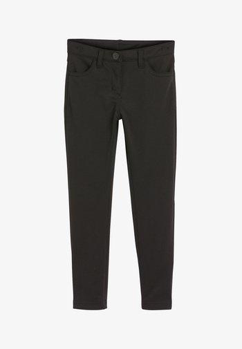 STRETCH - Kalhoty - black