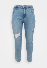 Cotton On Curve - TAYLOR MOM - Slim fit jeans - aireys blue rip - 4