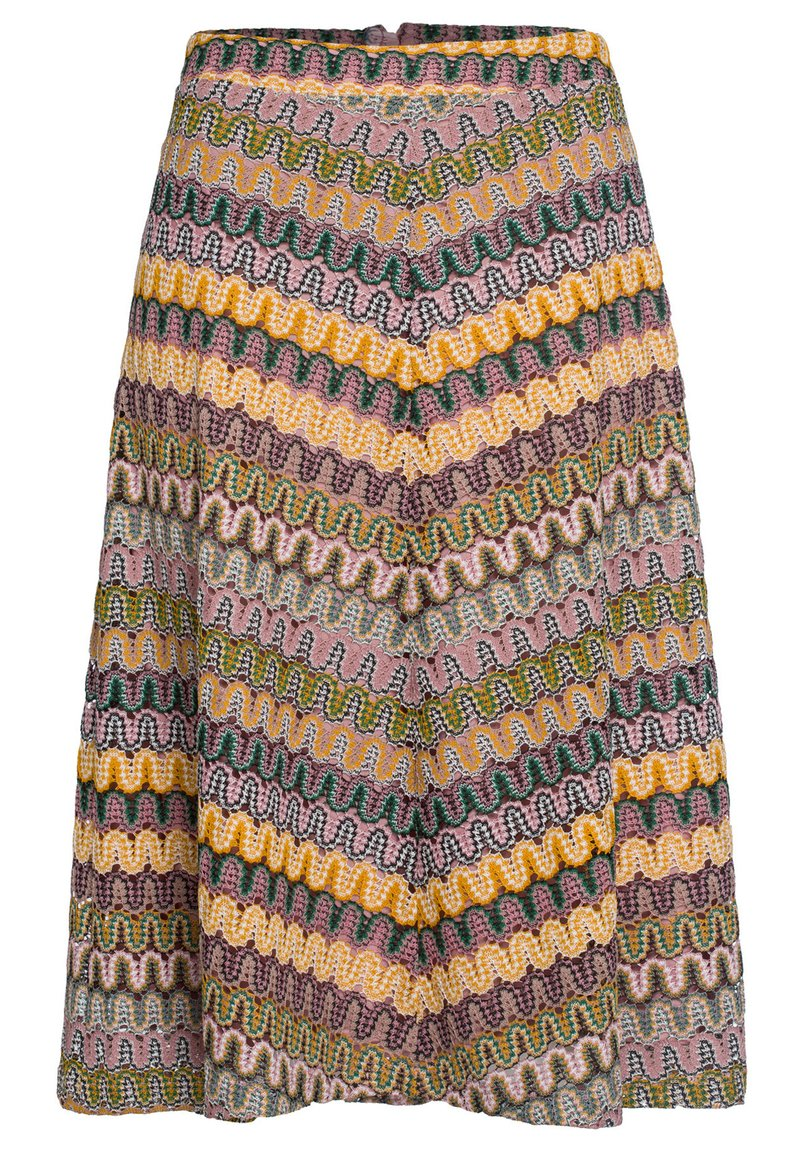 More & More - A-line skirt - brown/beige