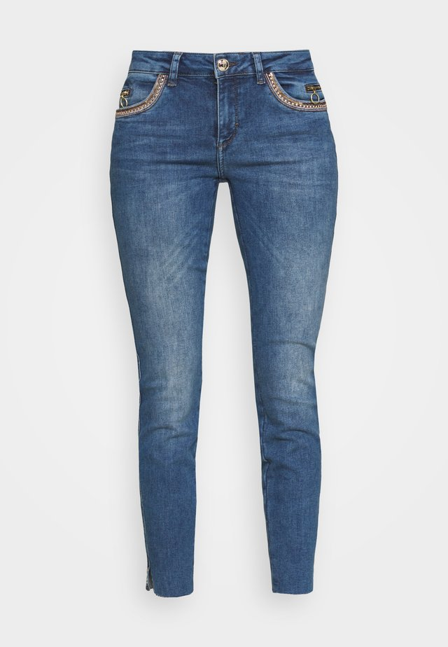 SUMNER SHINE - Slim fit jeans - blue