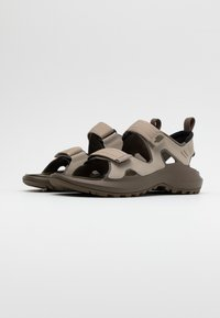 The North Face - HEDGEHOG  - Walking sandals - vintage khaki/bipartisan brown - 1