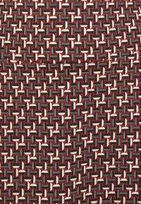 King Louie - BORDER SKIRT NOSHI - A-line skirt - henna red - 2