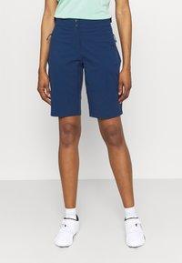 Jack Wolfskin - GRADIENT SHORT  - Sports shorts - dark indigo - 0