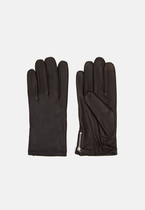 GROUND GLOVES TOUCH - Gloves - brown