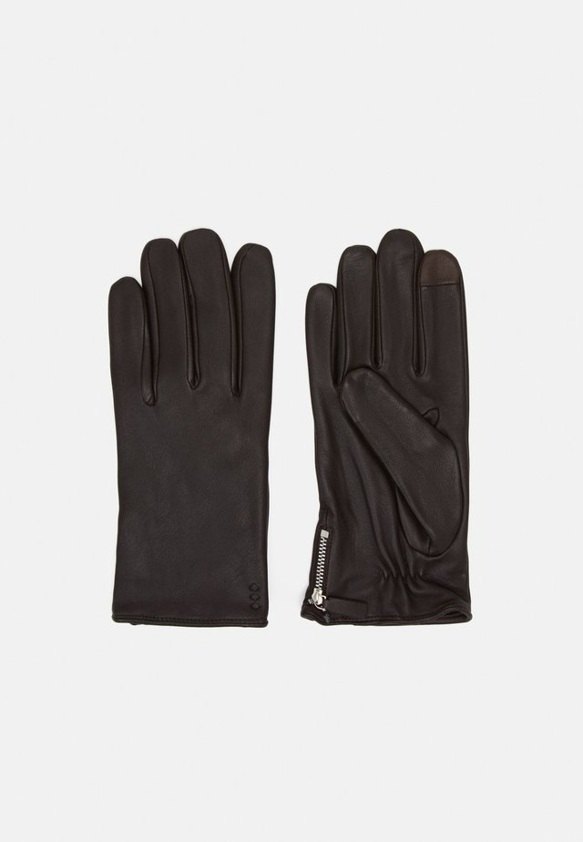 GROUND GLOVES TOUCH - Sormikkaat - brown