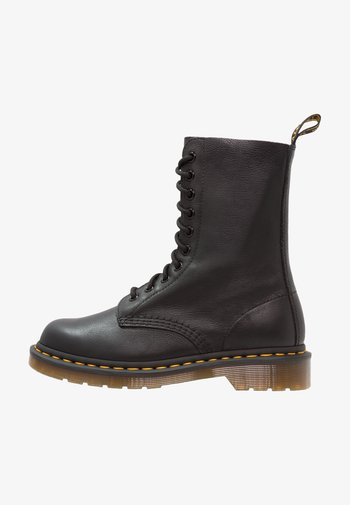 1490 10 EYE VIRGINIA - Veterboots - black