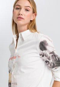 Marc Aurel - Button-down blouse - off white varied - 3