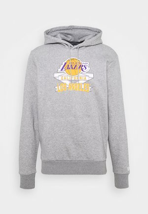 LOS ANGELES LAKERS NBA GRAPHIC PO HOODY - Article de supporter - grey