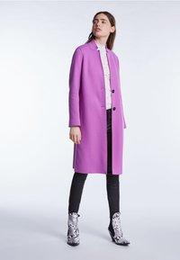 SET - Classic coat - iris orchi - 1
