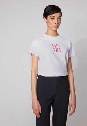 ECURATA_HB - Print T-shirt - pink