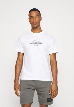 BEERUS TEE - T-shirt print - white