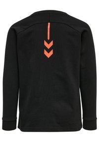 Hummel - HMLACTION - Sweatshirt - black fiesta - 1