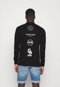 G-Star - REFLECTIVE MULTI GRAPHIC R T L\S - Top sdlouhým rukávem - black - 2