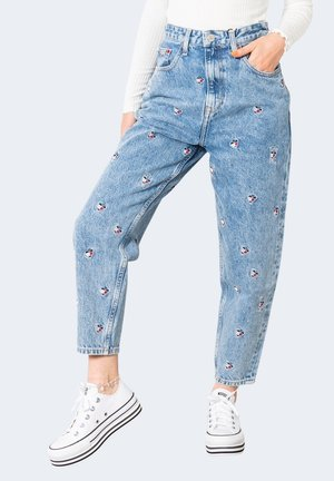 Relaxed fit jeans - light denim