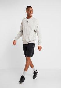 Under Armour - SPECKLED FLEECE CREW - Sweatshirt - light grey - 1