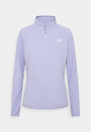 GLACIER ZIP MONTEREY - Fleece jumper - sweet lavender
