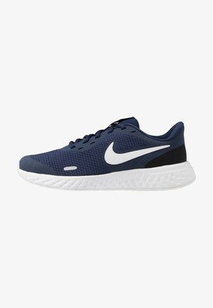 REVOLUTION 5 UNISEX - Neutral running shoes - midnight navy/white/black