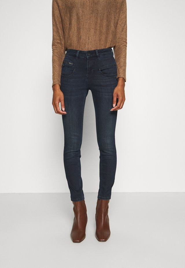 ALEXA HIGH WAIST CROPPED - Skinny-Farkut - michigan