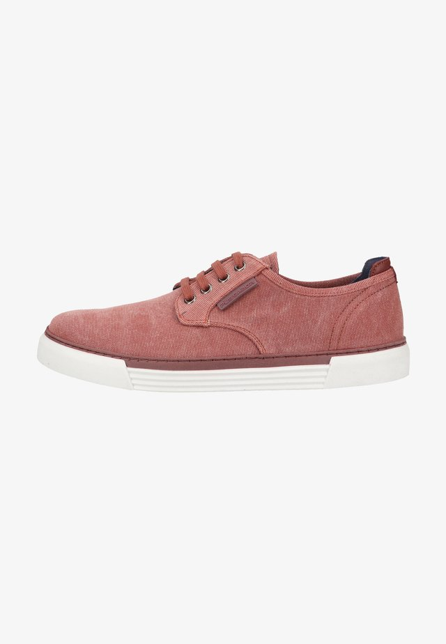 Sneakers laag - rosewood