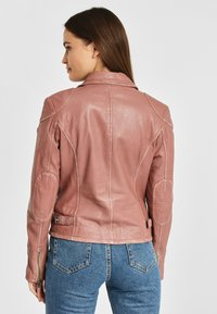 Gipsy - PGG LABAGV - Leather jacket - foggy rose - 2
