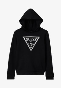 Guess - ACTIVEWEAR CORE - Mikina - jet black/frost - 2