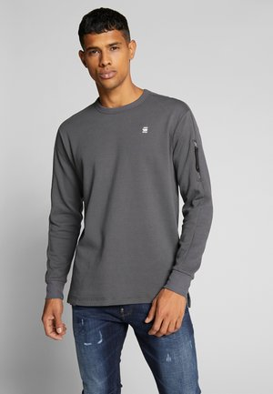 KORPAZ POCKET - Long sleeved top - lead