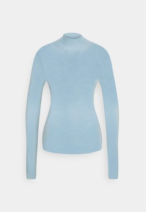 Long sleeved top - grey blue