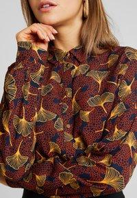 Vila - VIOPENING PEYTON - Button-down blouse - navy blazer/kecthup - 5