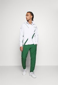 Lacoste Sport - SET TENNIS TRACKSUIT HOODED - Dres - white/green - 1