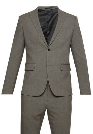 PLAIN MENS SUIT - Kostym - light brown