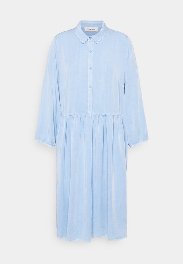 IRWIN DRESS - Shirt dress - blue