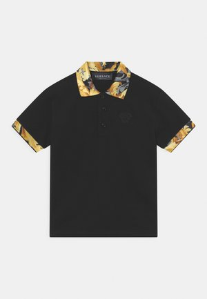 BAROCCO FLAGE MEDUSA - Polo shirt - nero/oro