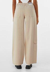 Bershka - Pantalon classique - beige - 2