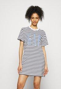 GAP - TALL DRESS - Jersey dress - navy - 0