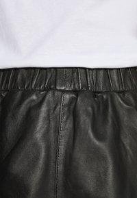 Ibana - SABINE LAYERED SKIRT - Maxi skirt - black - 4