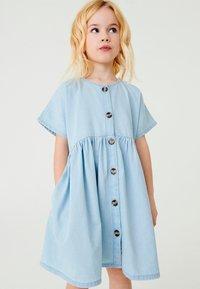 Next - RELAXED  - Denim dress - light blue - 0