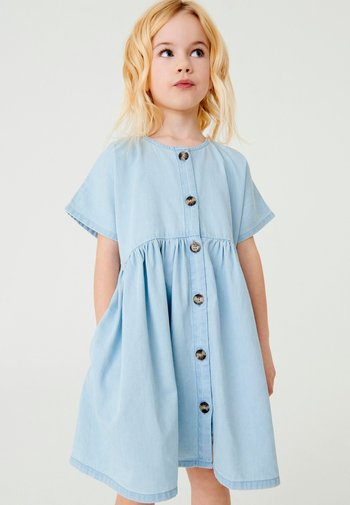 RELAXED  - Denim dress - light blue