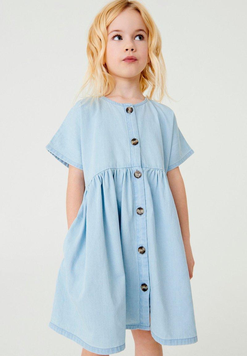 Next - RELAXED  - Denim dress - light blue