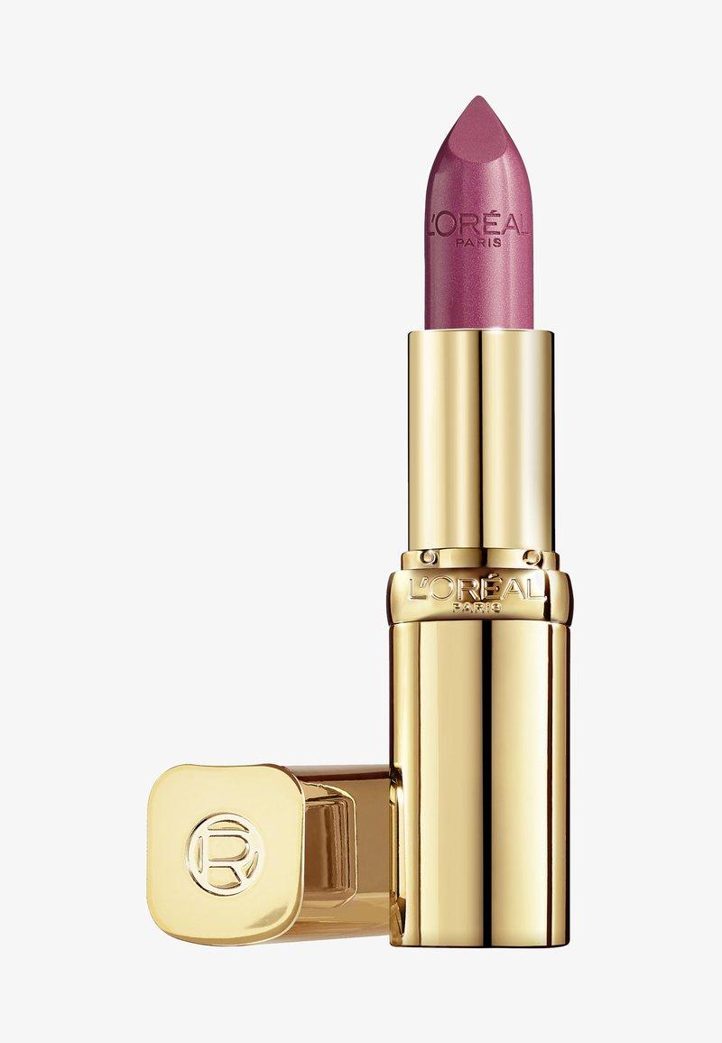 L'Oréal Paris - COLOR RICHE SATIN - Lipstick - 265 rose perle