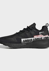 adidas Originals - ZX 2K BOOST SHOES - Sneakers basse - black - 6