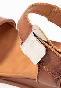 Felmini - KAREN - Platform sandals - cognac - 2