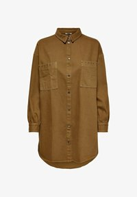ONLY - Button-down blouse - toffee - 0