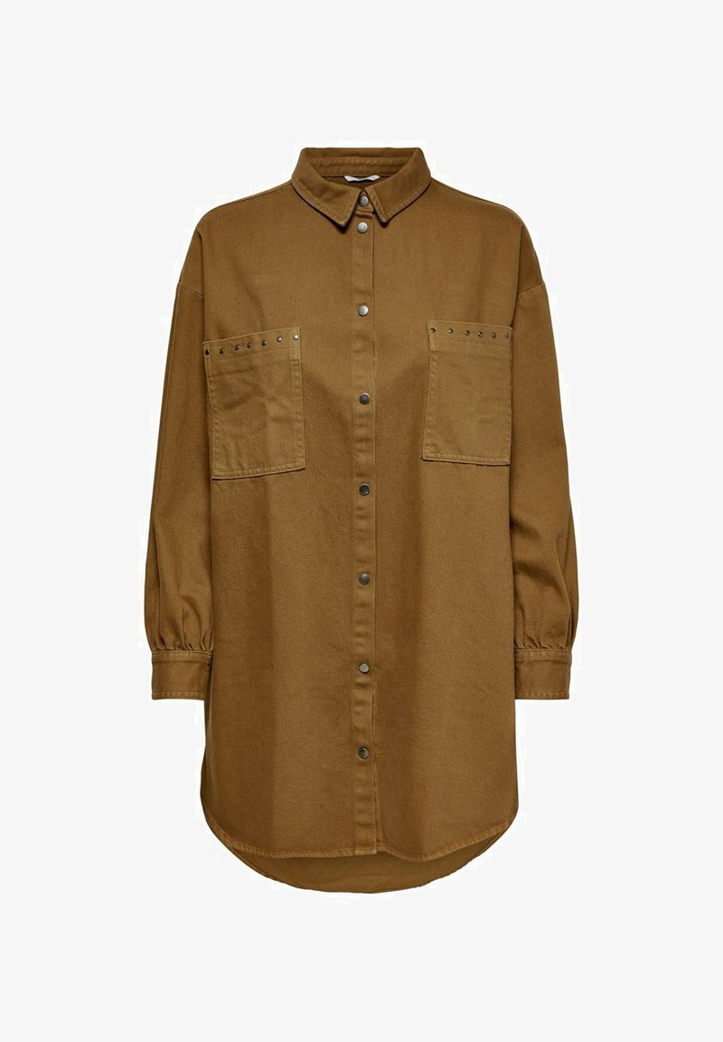 ONLY - Button-down blouse - toffee